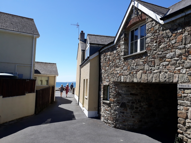 Coed Mor Amroth beach location
