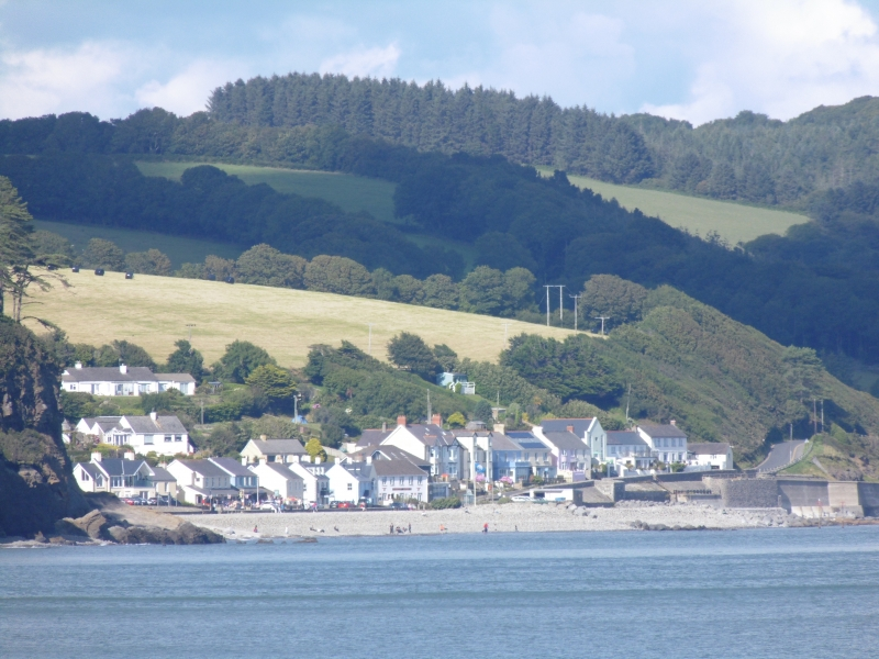 Amroth from the sea