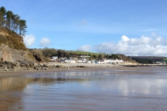 Amroth from the beach