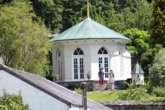 Colby Woodland Gardens - walled garden