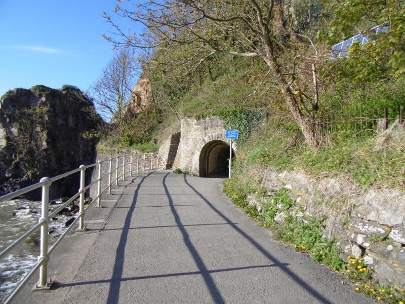 Tramway tunnels between Wisemans Bridge and Saundersfoot