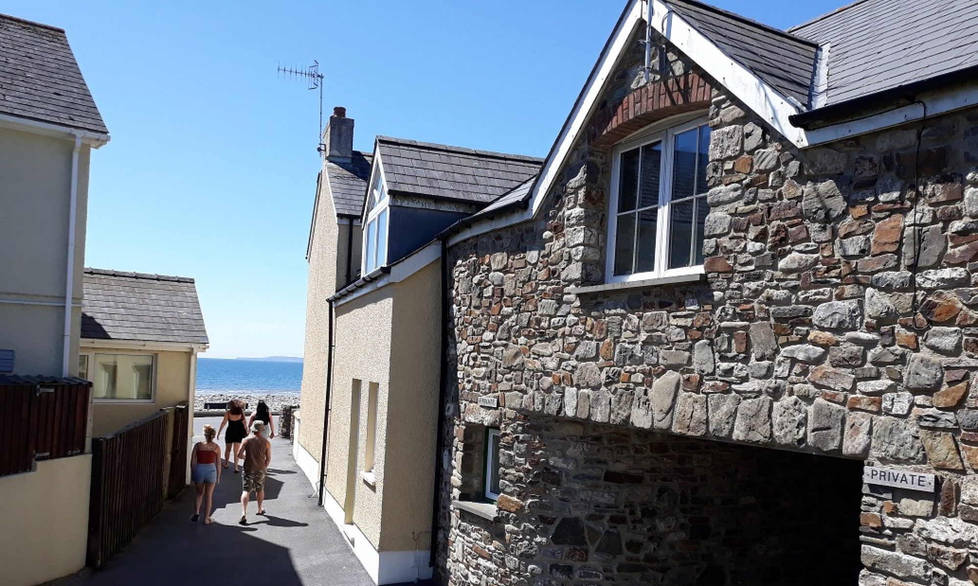2 Coed Mor - Amroth Cottage Apartment